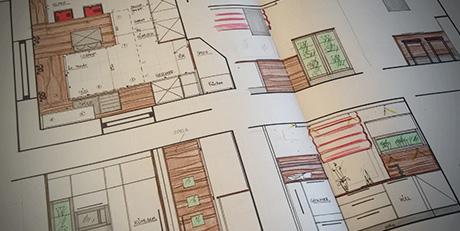 Planungszeichnungen